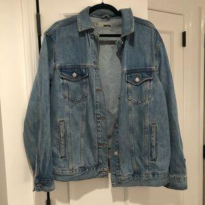 Topshop Super Oversized Denim Jacket